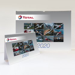 Calendrier Total Aviation 2020- Mural