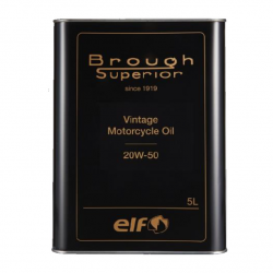 Brough Superior - ELF  Vintage  Motorcycle  Oil  20W-50