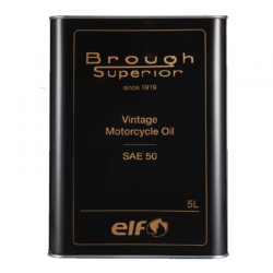 BROUGH  SUPERIOR  ELF  Vintage  Motorcycle  Oil  SAE 50 5L